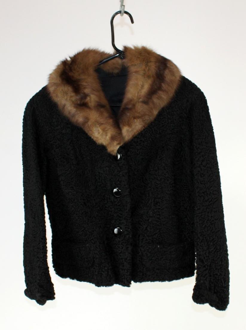 Schiaparelli Persian lamb jacket