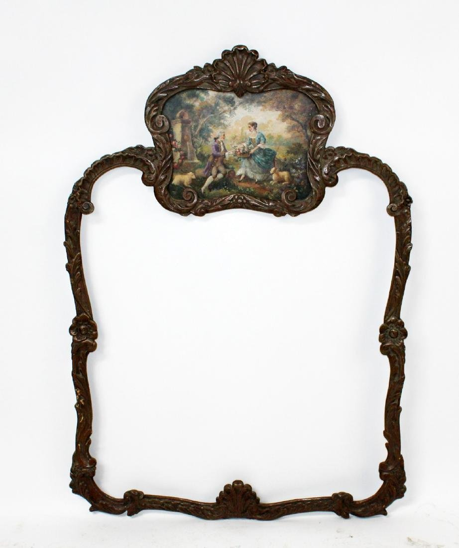 Louis XV style painted frame
