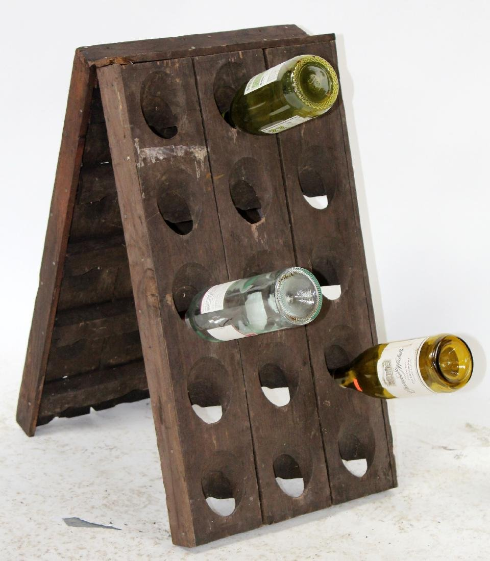 Tabletop French riddling rack