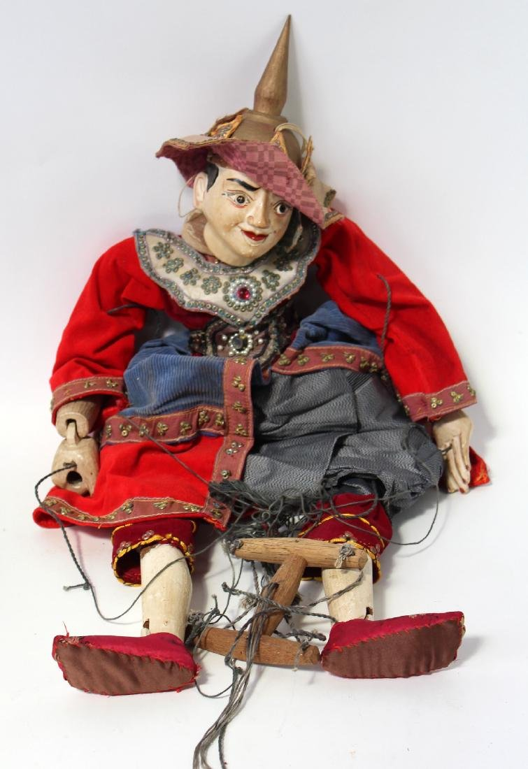 Burmese marrionette puppet