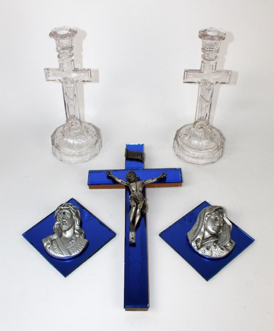 Collection of Catholic decoratives