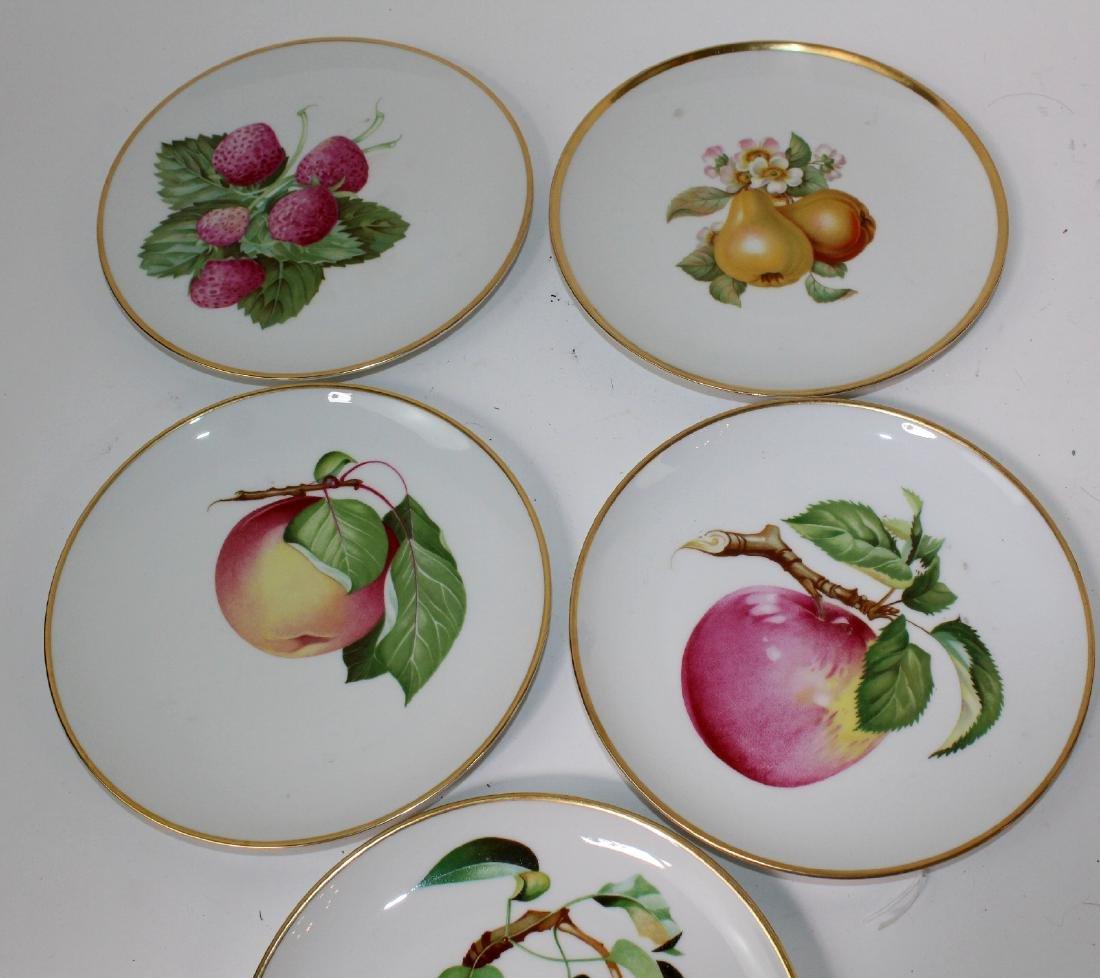 5 Heinrich Bavarian porcelain plates - 3