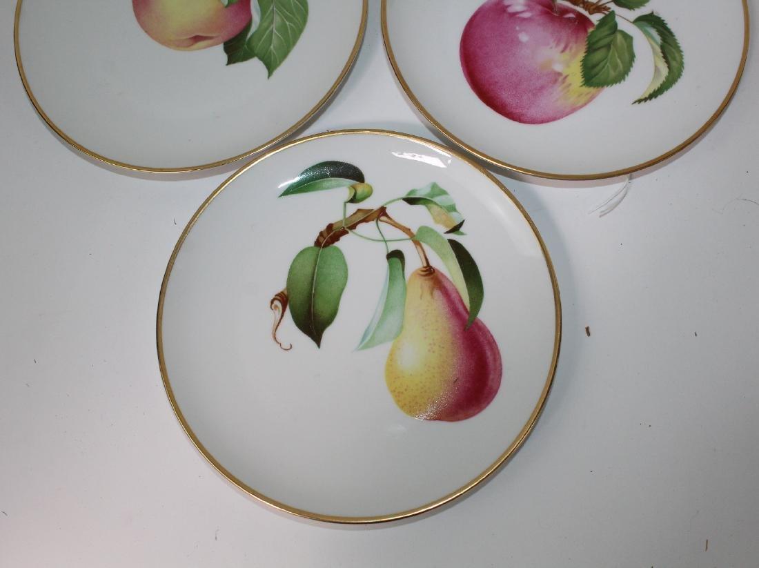 5 Heinrich Bavarian porcelain plates - 4