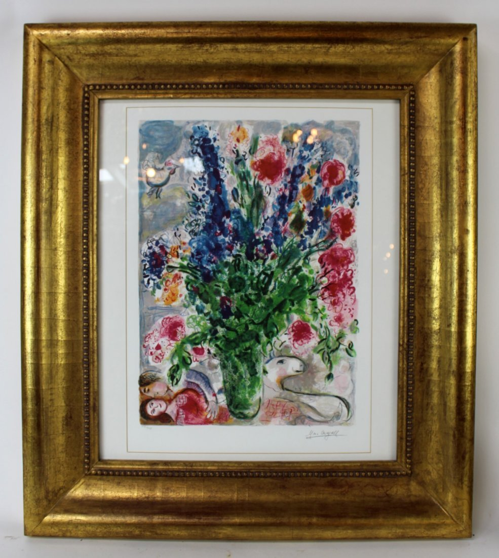Marc Chagall Limited edition signed print