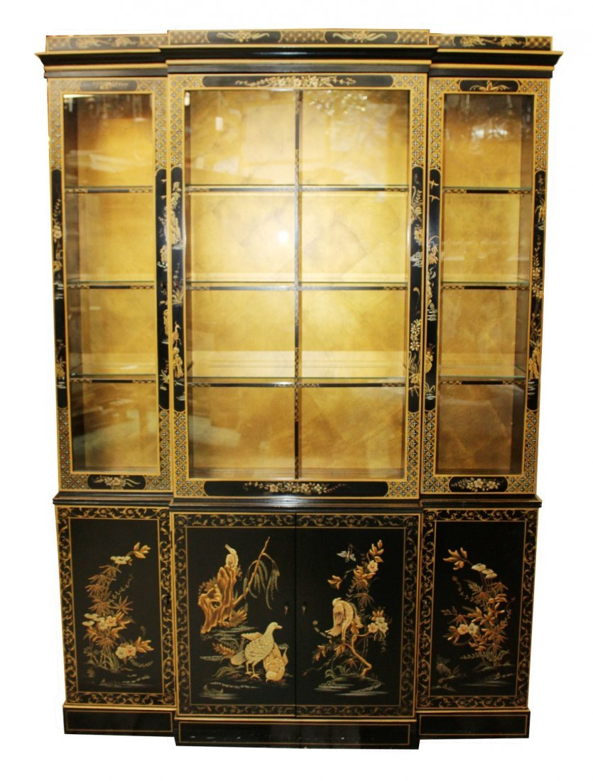 Drexel Heritage Chinoserie china cabinet