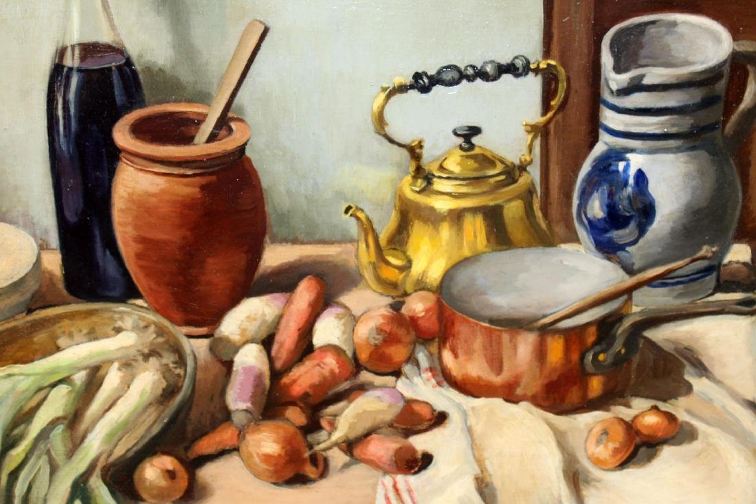 Selzie Oil on canvas still life - 3