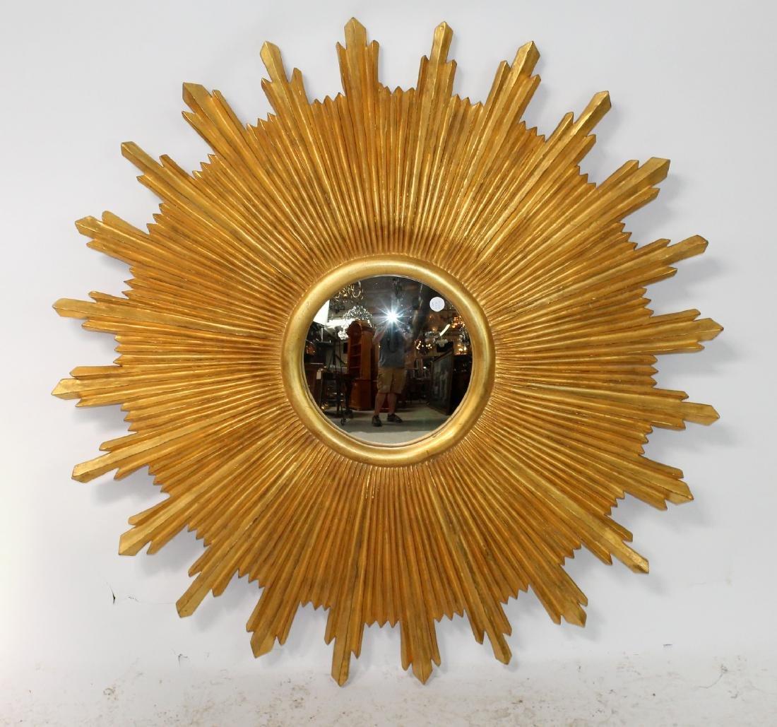 Carvers Guild sunburst mirror