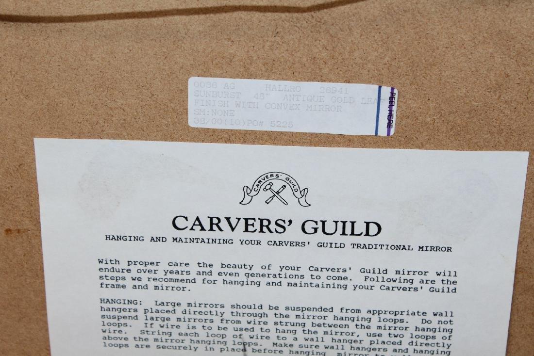 Carvers Guild sunburst mirror - 2