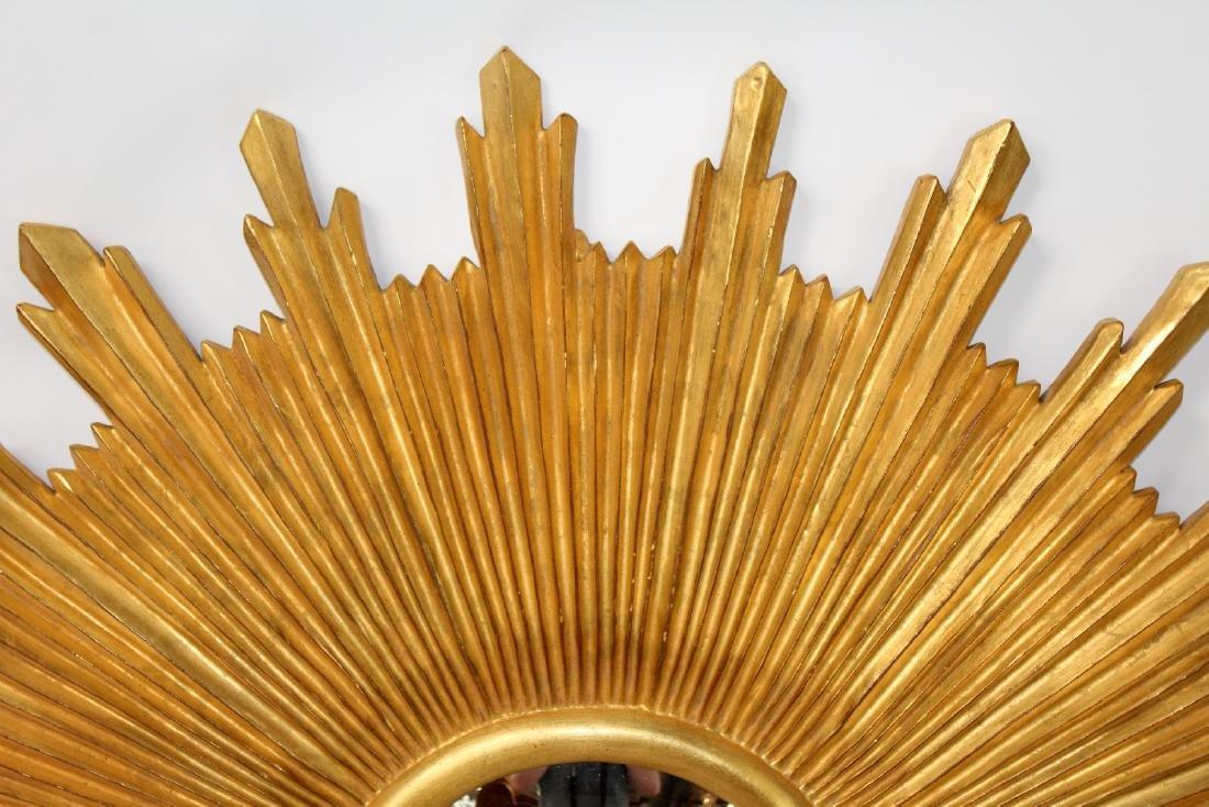 Carvers Guild sunburst mirror - 4