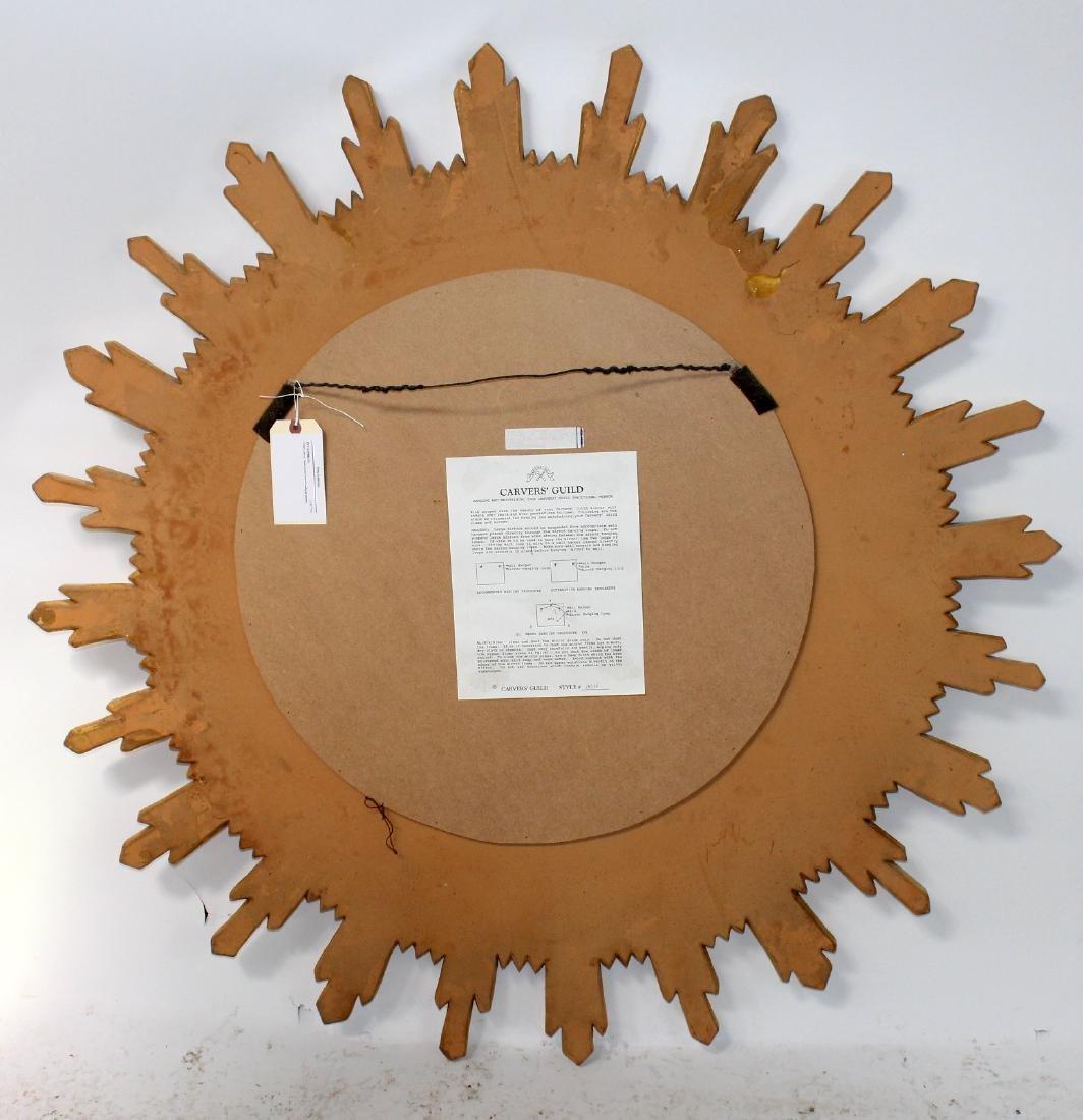 Carvers Guild sunburst mirror - 6