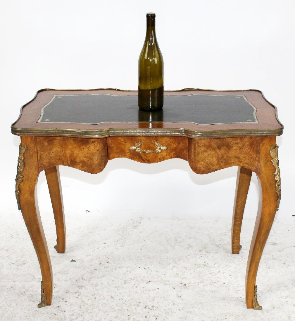 Louis XV style bureauplat side table - 2