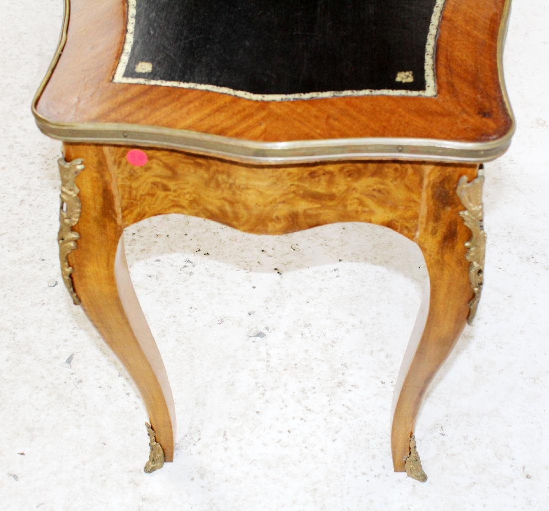 Louis XV style bureauplat side table - 4