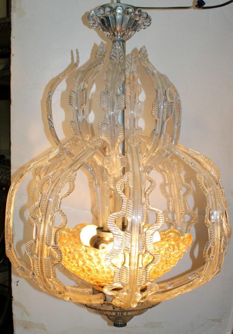 Italian Murano glass chandelier - 2