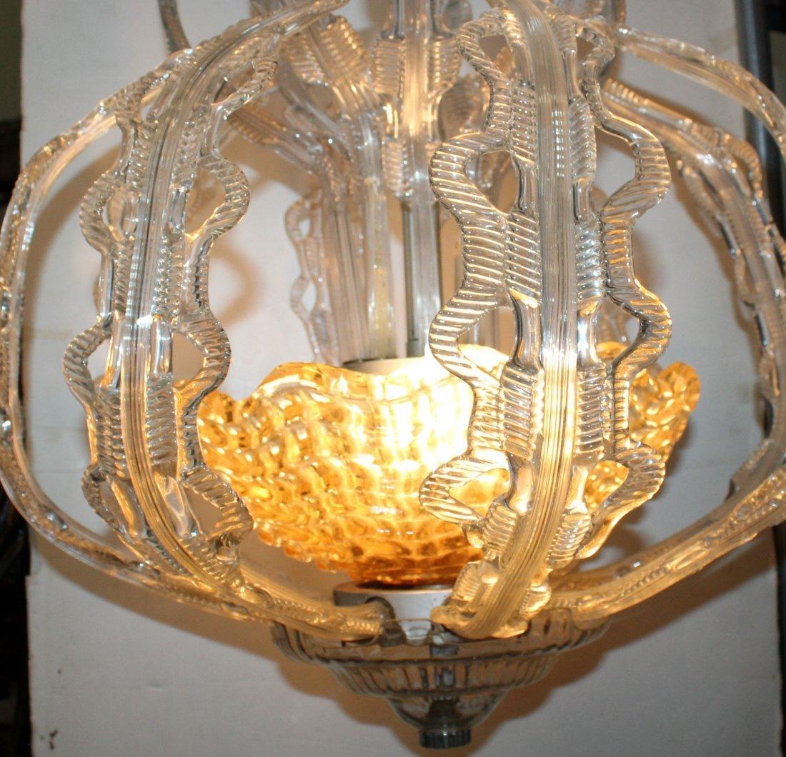 Italian Murano glass chandelier - 5