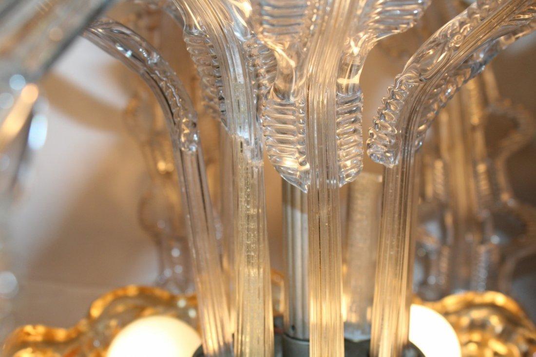 Italian Murano glass chandelier - 6