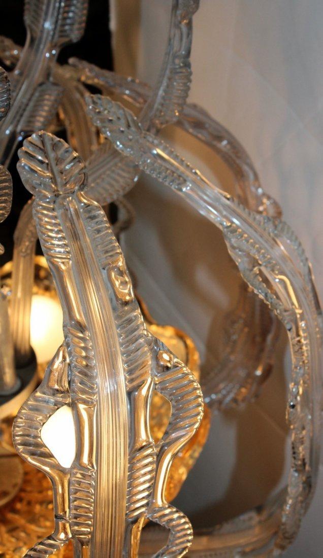 Italian Murano glass chandelier - 8