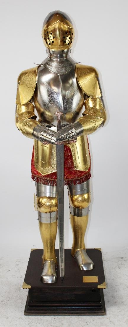 Spanish made suit of armor by Marto