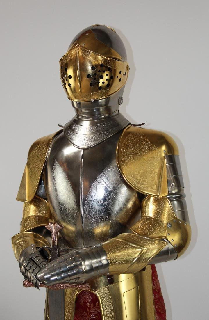 Spanish made suit of armor by Marto - 4