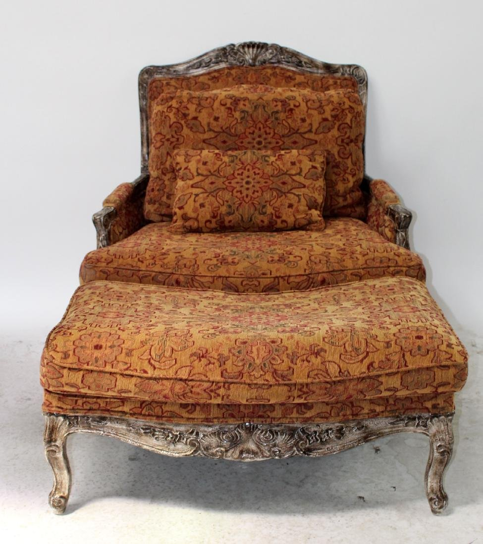 Highland House upholstered chair and a half