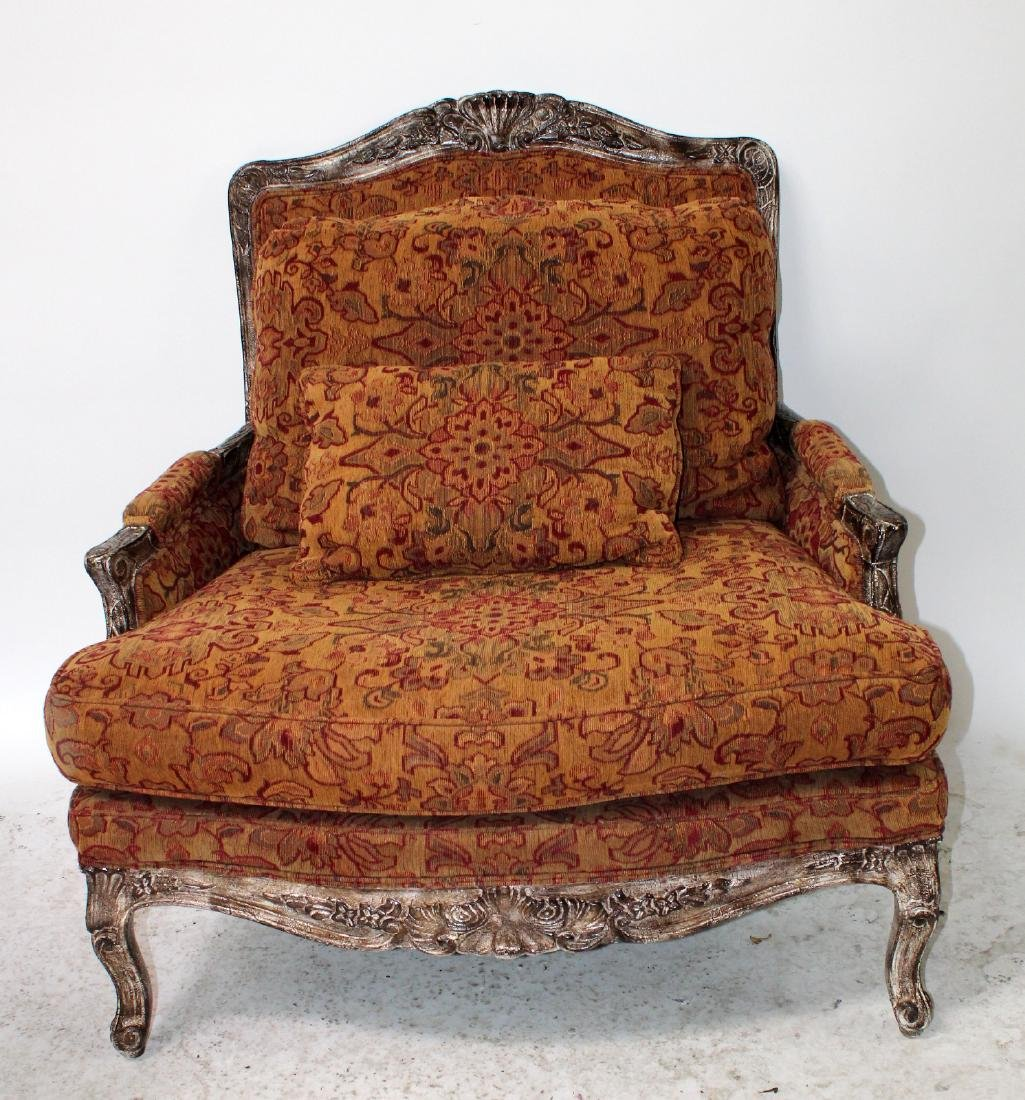 Highland House upholstered chair and a half - 2