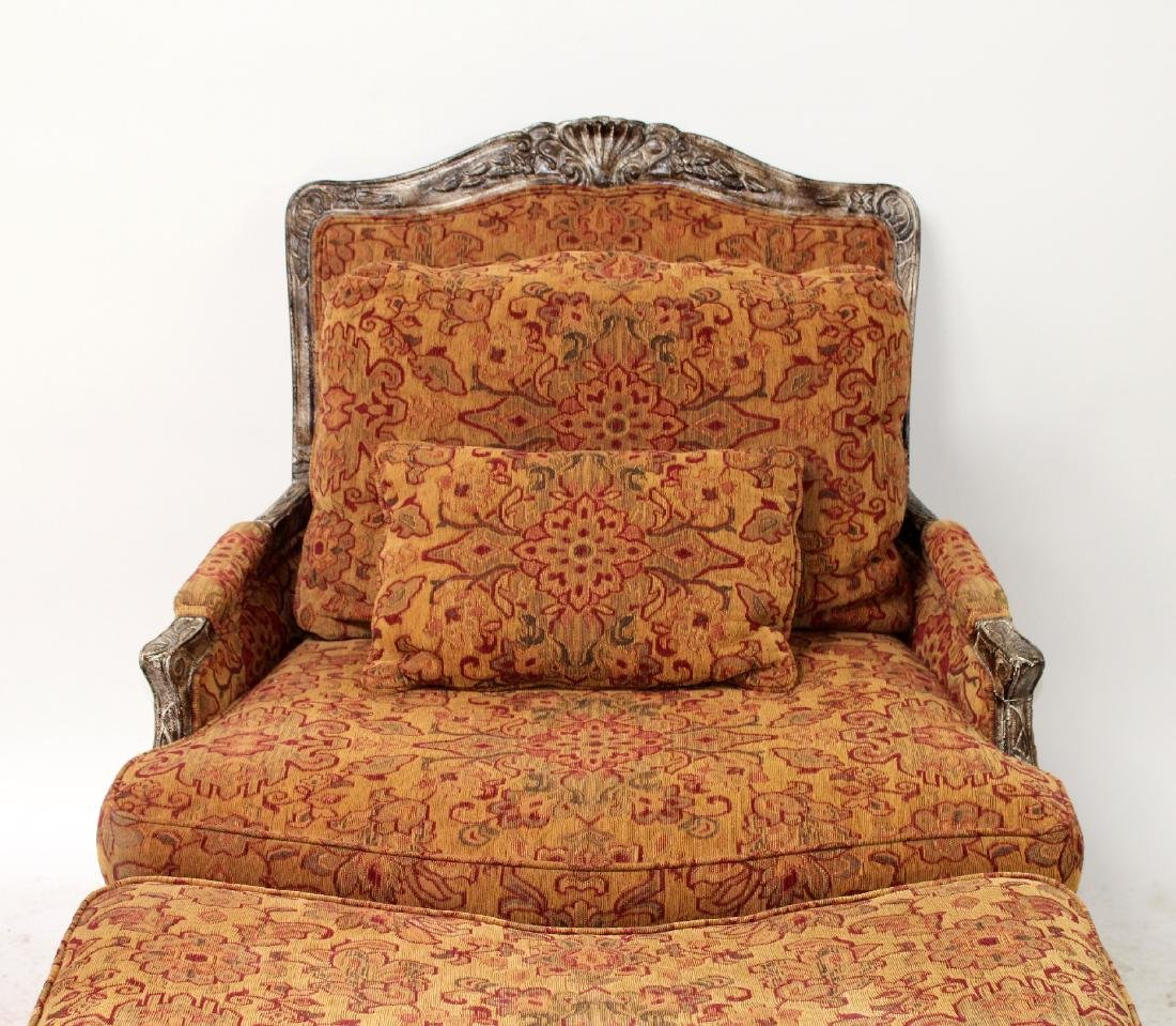 Highland House upholstered chair and a half - 3