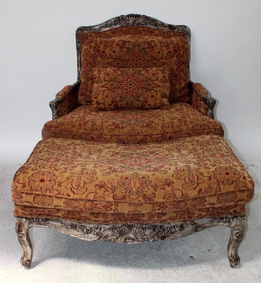 Highland House upholstered chair and a half - 4