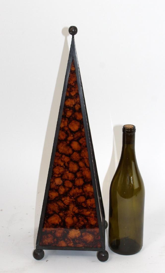 Maitland Smith pen shell obelisk - 4