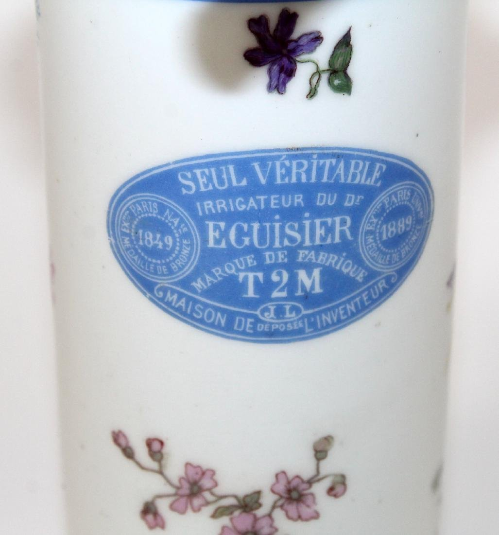 Antique Parisian porcelain feminine wash - 4