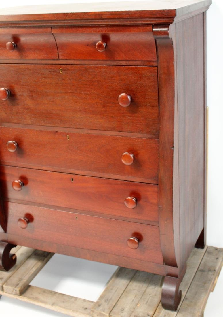 Karcher & Rehn Empire style dresser in mahogany - 3