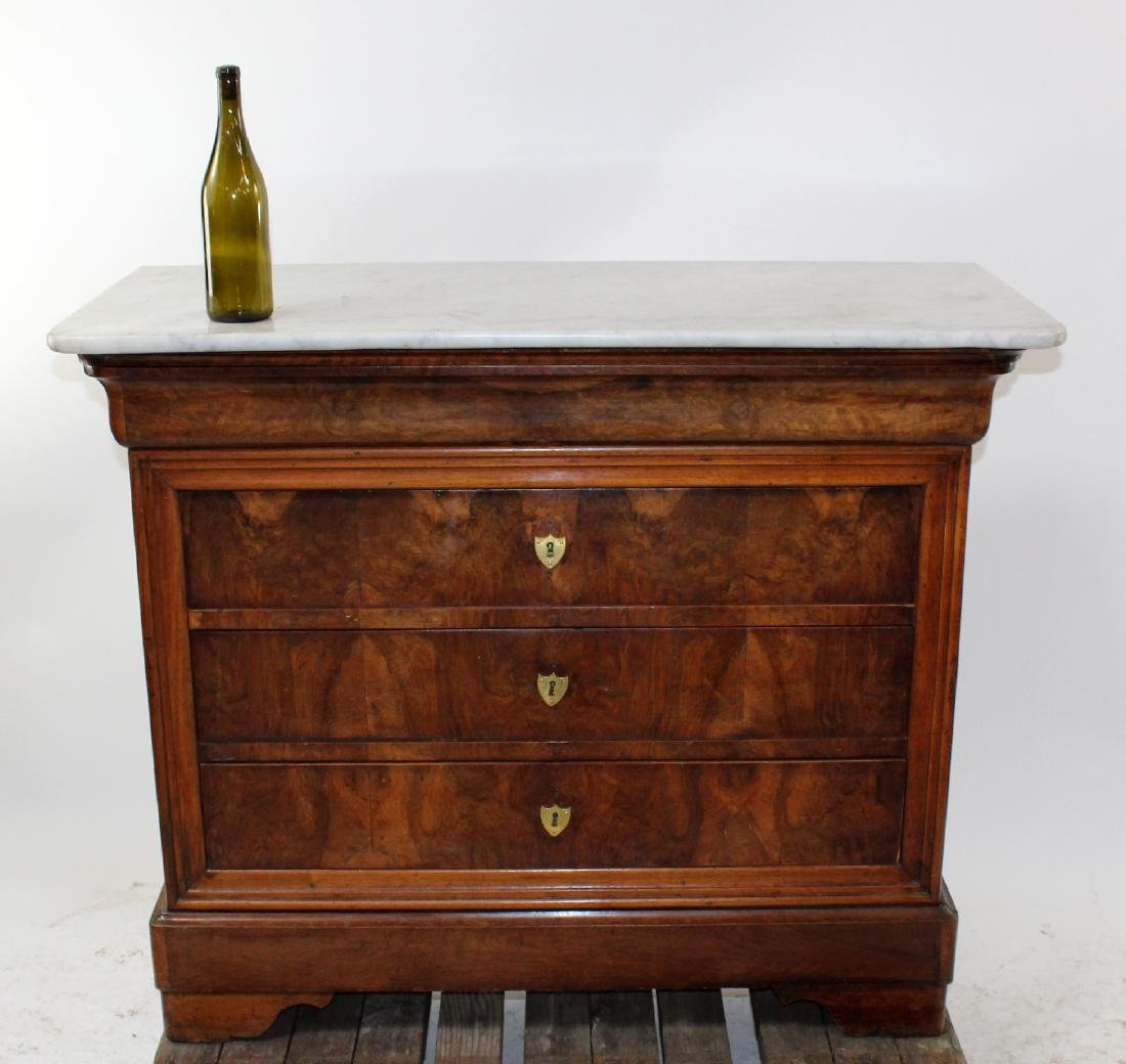 French Louis Philippe commode - 5