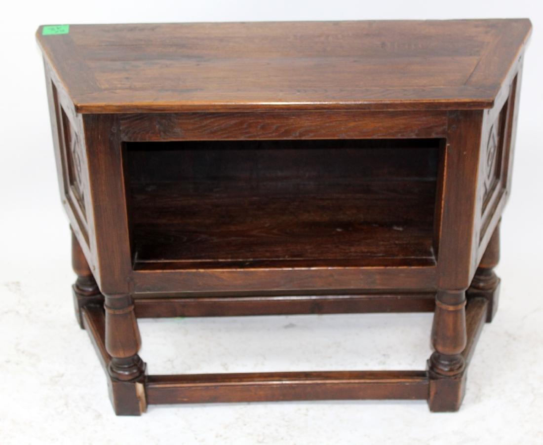 French oak bar cabinet