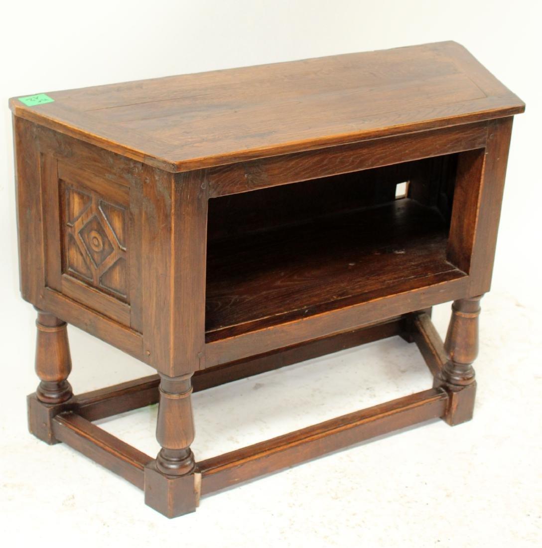 French oak bar cabinet - 3