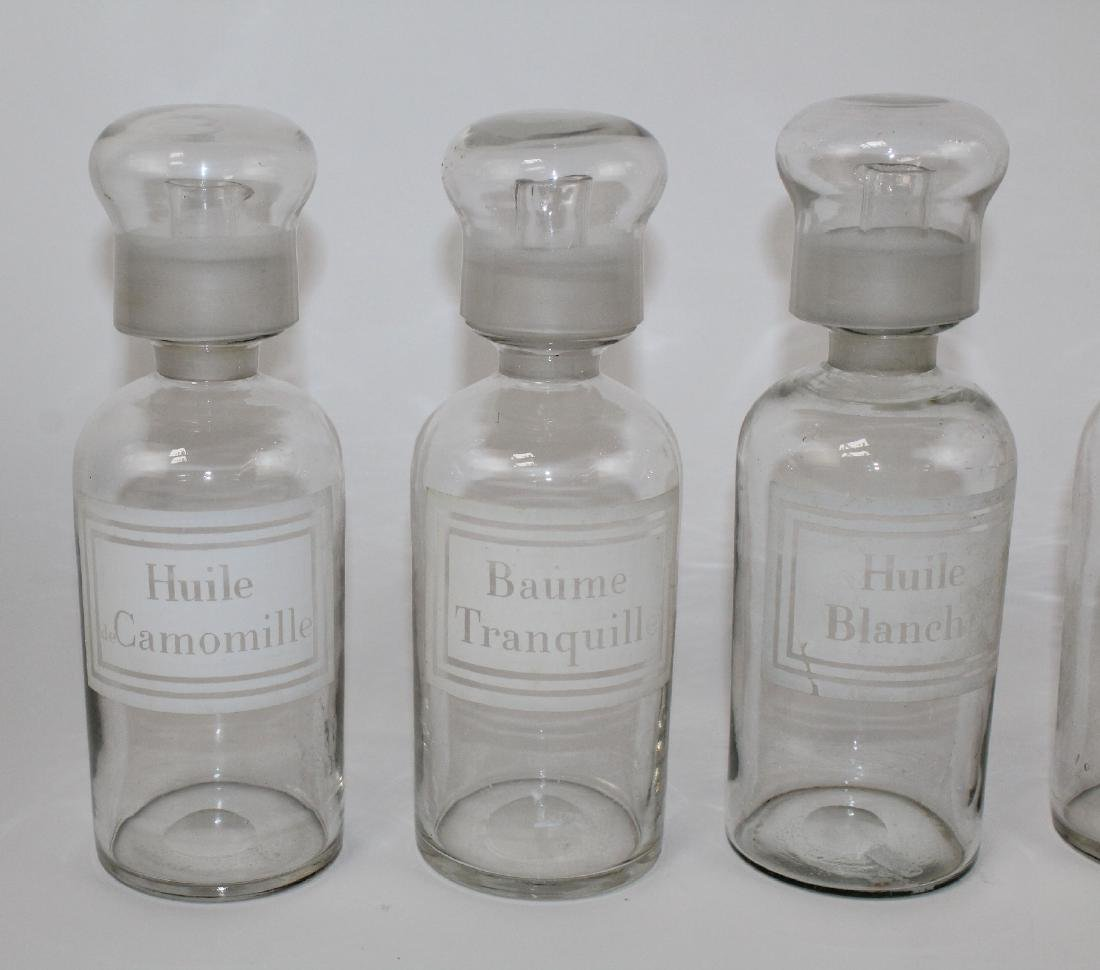 Set of 4 French apothecary jars - 3