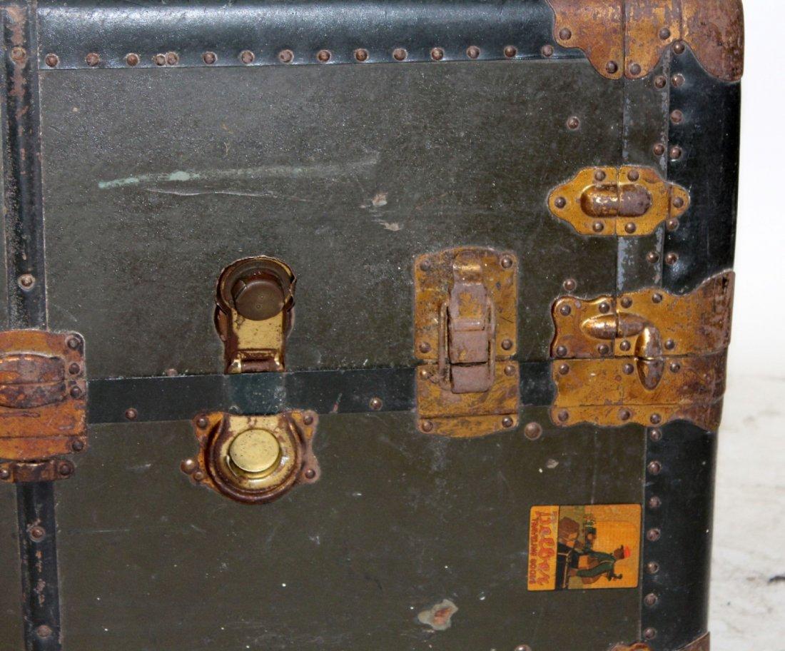 Antique American Belber wardrobe trunk - 7