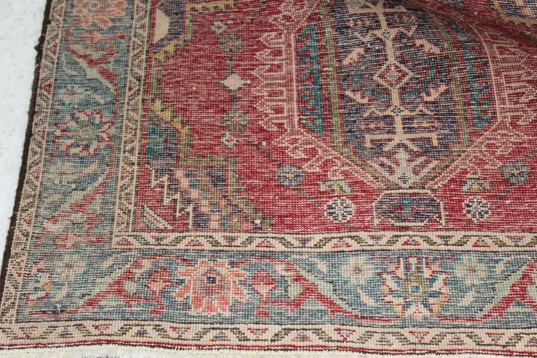 "3'4""x 12'10"" Persian wool runner - 2"