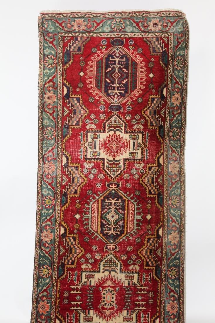 "3'4""x 12'10"" Persian wool runner - 3"