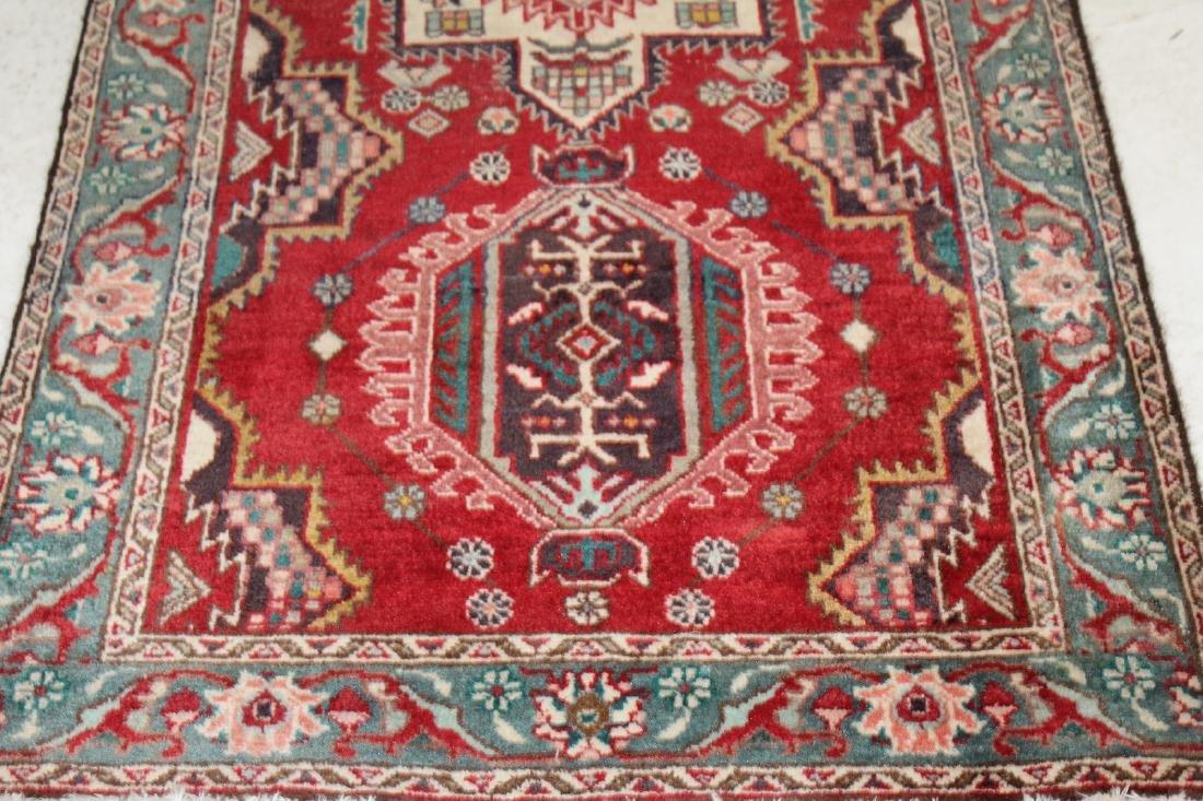 "3'4""x 12'10"" Persian wool runner - 5"
