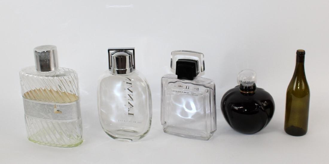 4 Vintage store display perfume bottles - 2