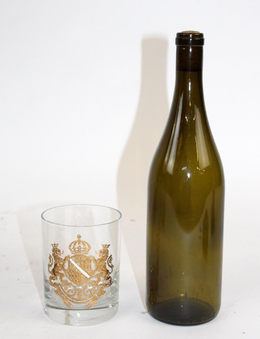 12 Georges Briard rocks glasses with crest - 2