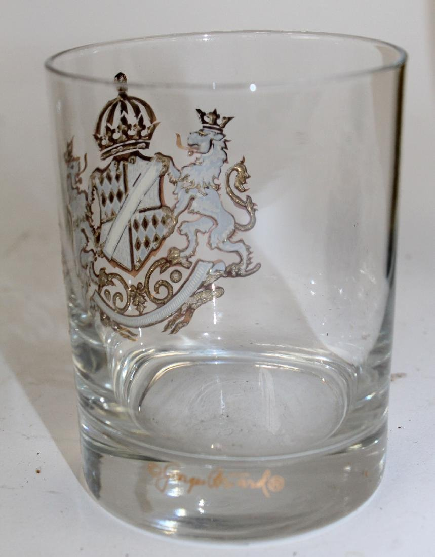 12 Georges Briard rocks glasses with crest - 4