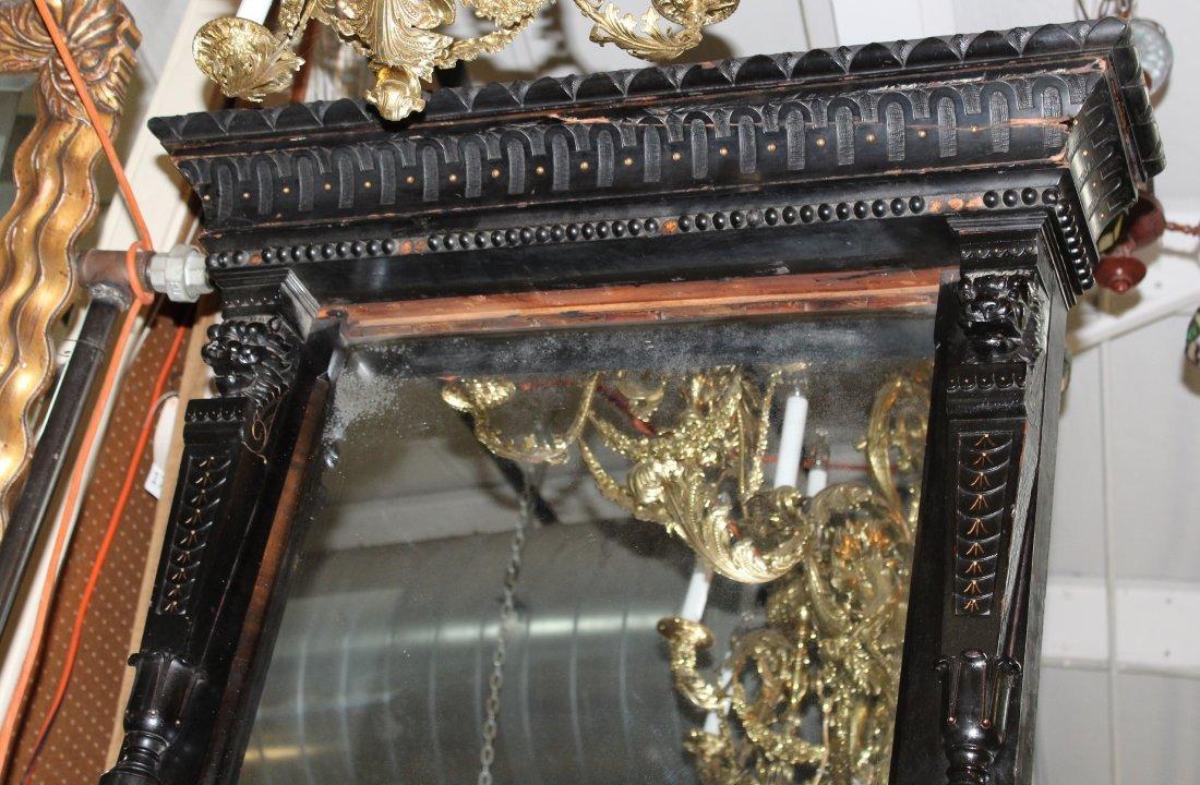 American Aesthetic Movement pier mirror - 3