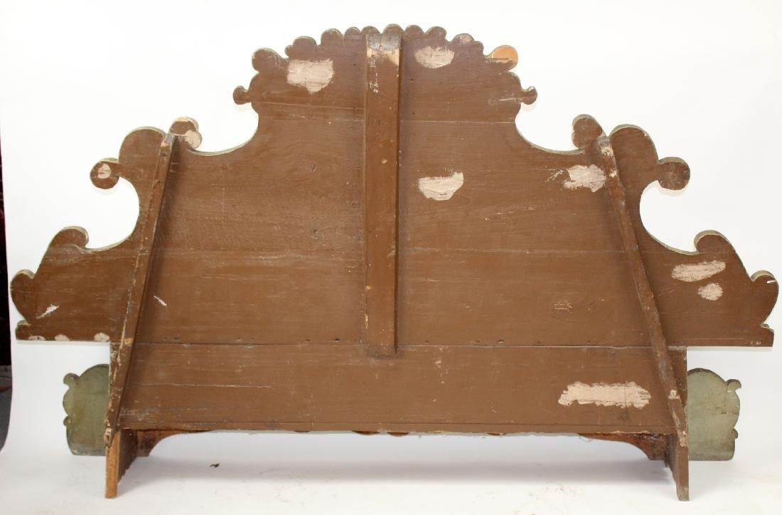 Italian Baroque polychrome Cassapanca bench - 2