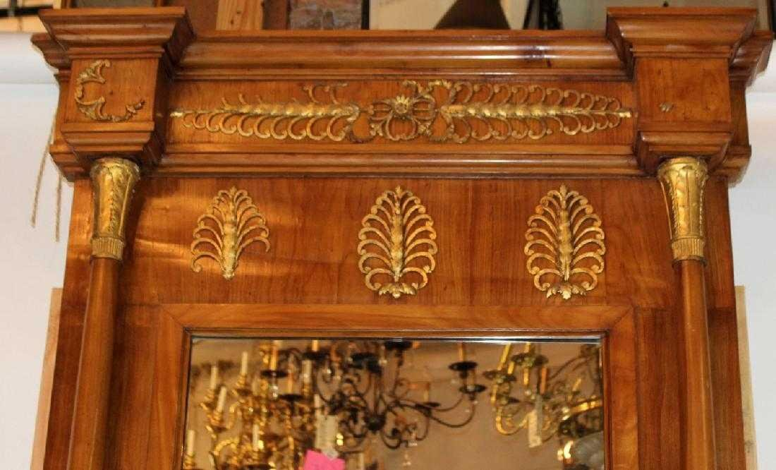 French Empire console with pier mirror - 5