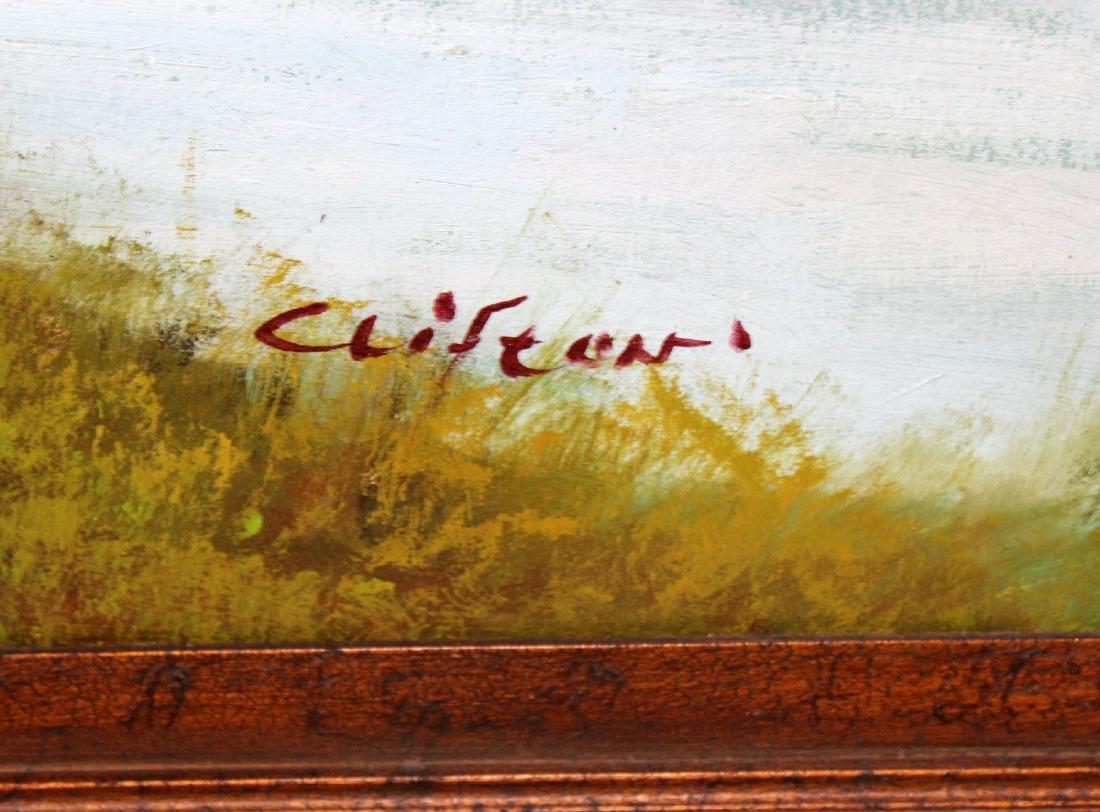 Grand scale oil on canvas landscape - 4