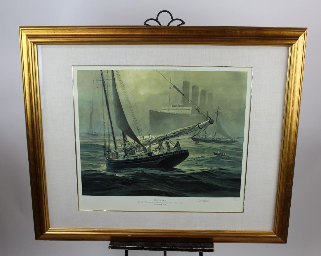"Thomas Hoyne print ""Fog Peril"""
