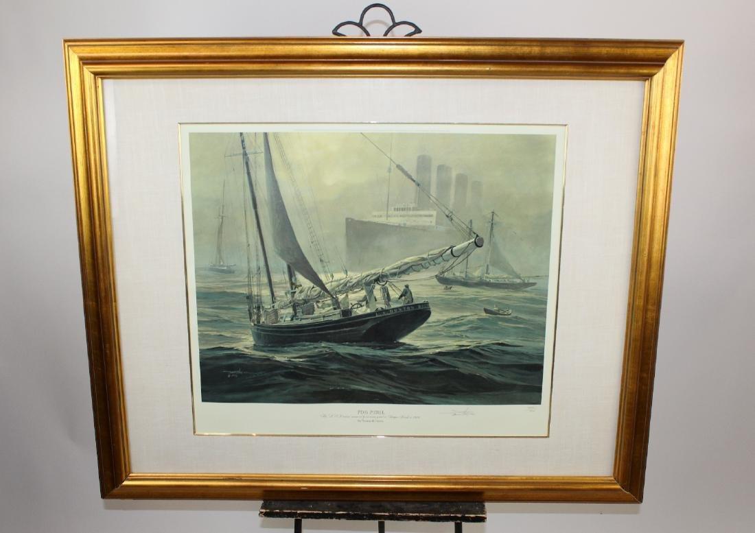 "Thomas Hoyne print ""Fog Peril"" - 3"