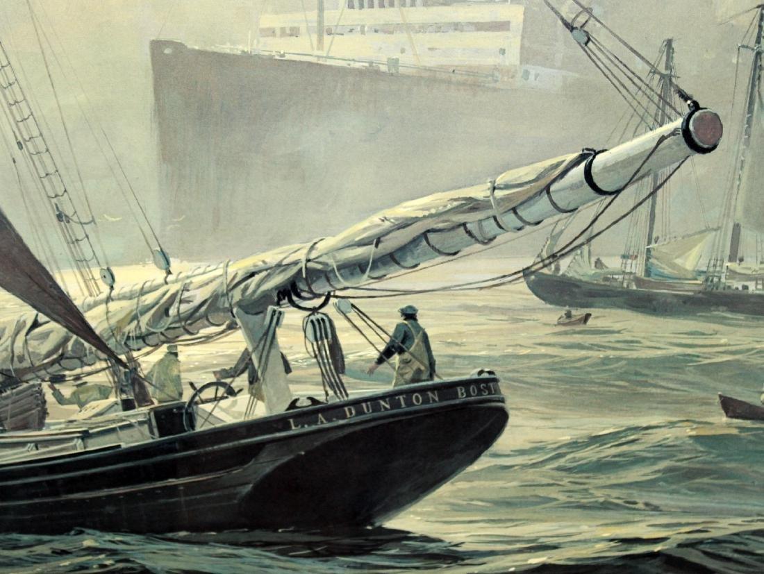 "Thomas Hoyne print ""Fog Peril"" - 4"