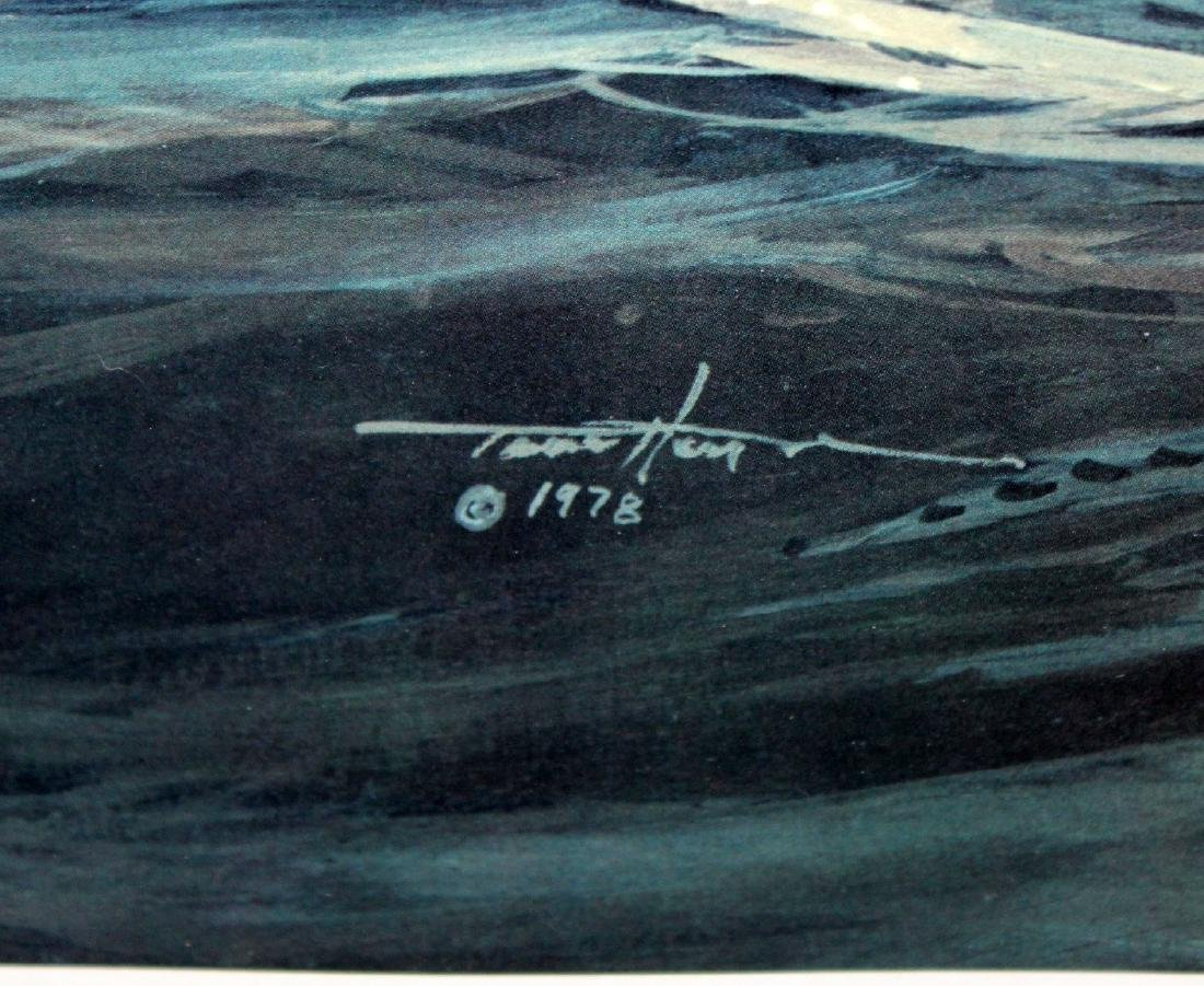 "Thomas Hoyne print ""Fog Peril"" - 7"