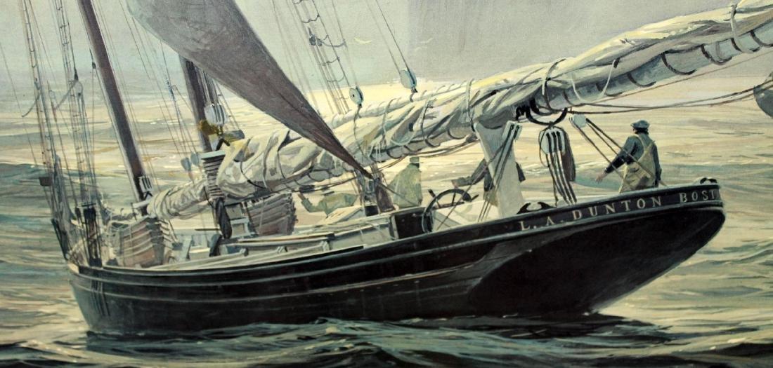 "Thomas Hoyne print ""Fog Peril"" - 8"