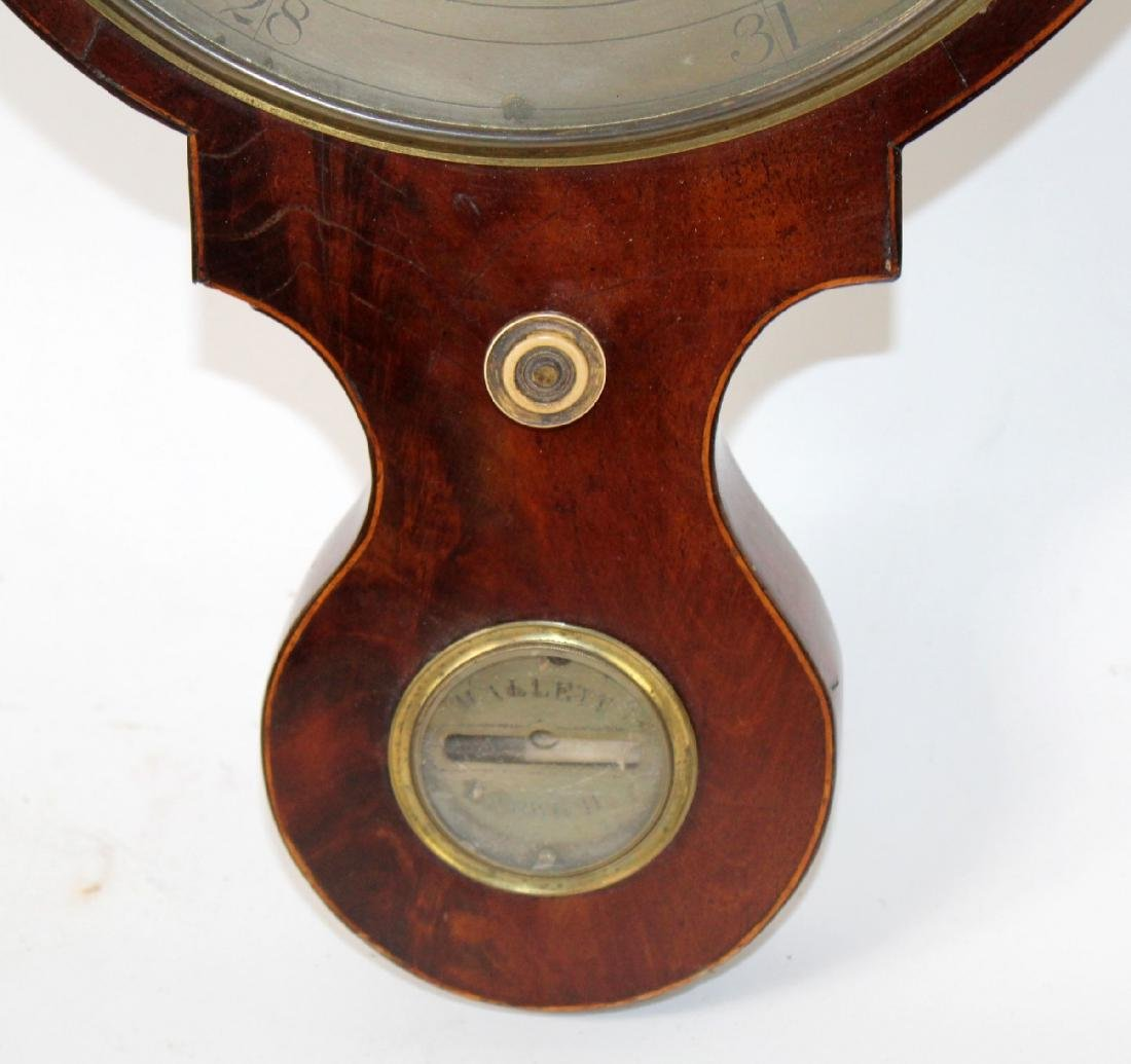 English wheel or banjo barometer - 3